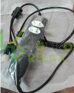 Remote control kit and universal power supply for electric recliner chairs with two motors
