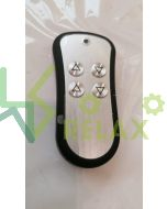 Blackberry Wireless hand control unit with four buttons